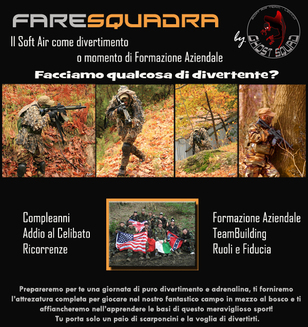 FareSquadra - Eventi soft air e team building
